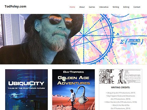 Website of Tod Foley